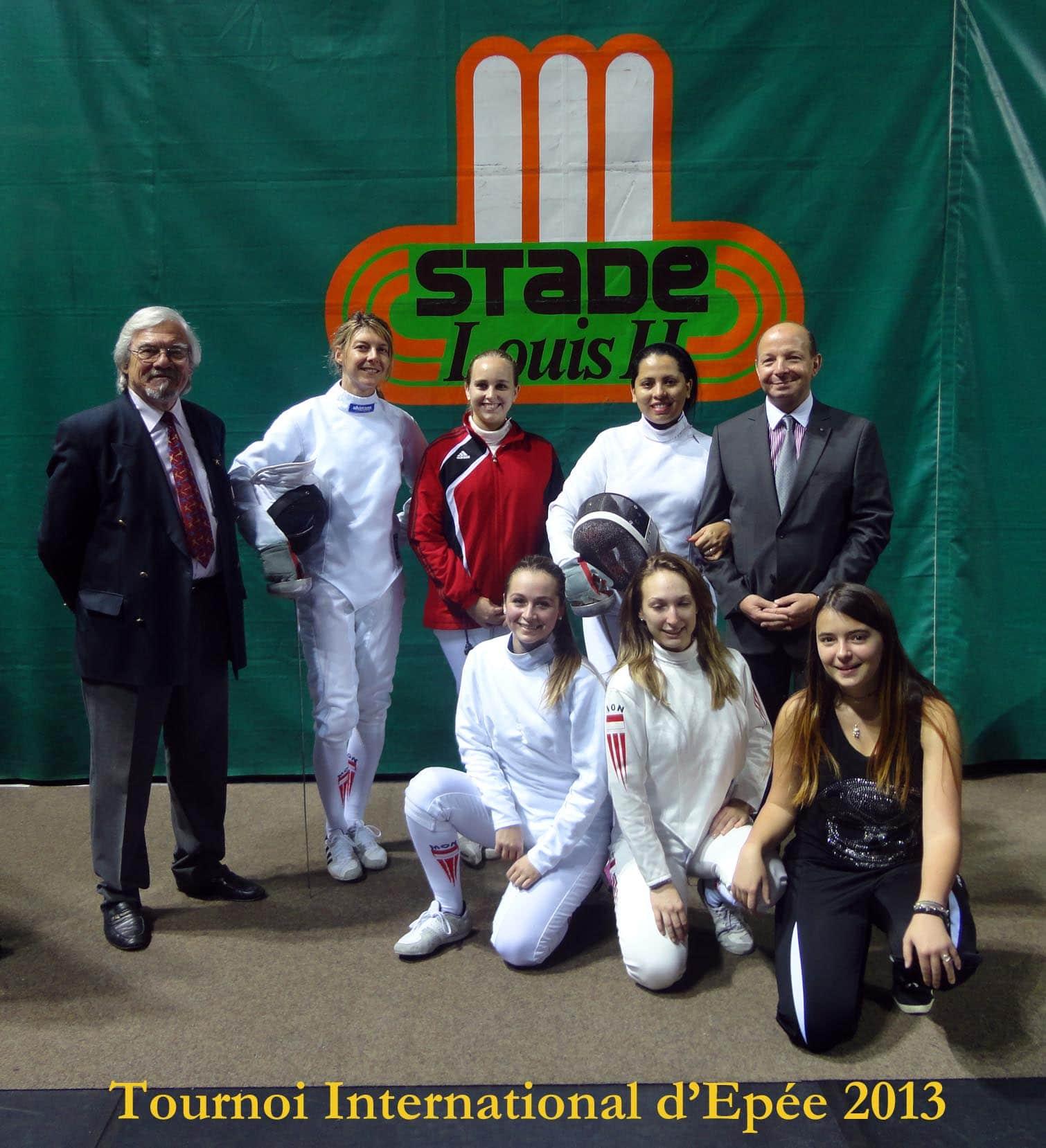 2013 Epée dames seniors