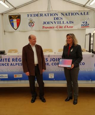 LE PRESIDENT DU CLUB A L'HONNEUR
