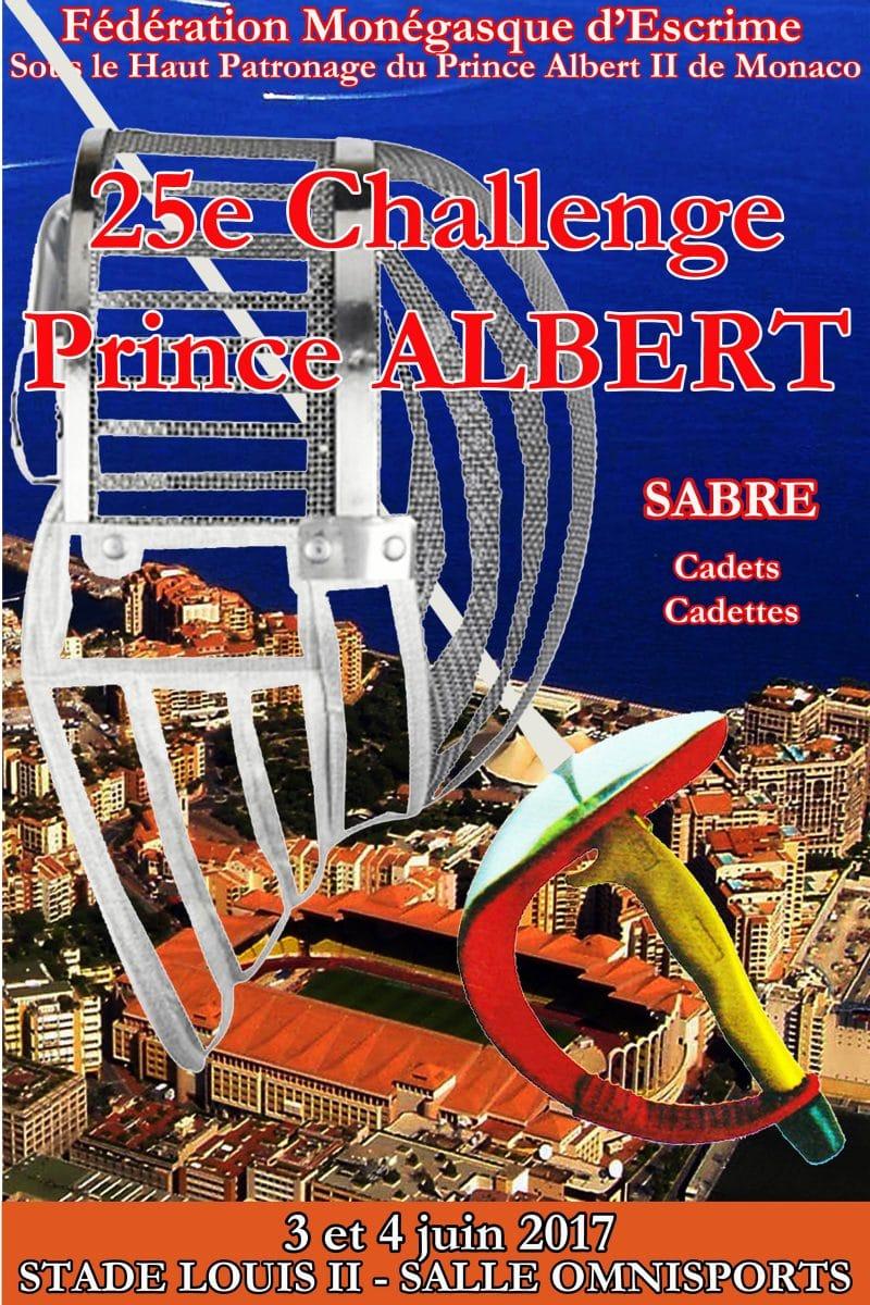 CHALLENGE PRINCE ALBERT AU SABRE CADETS