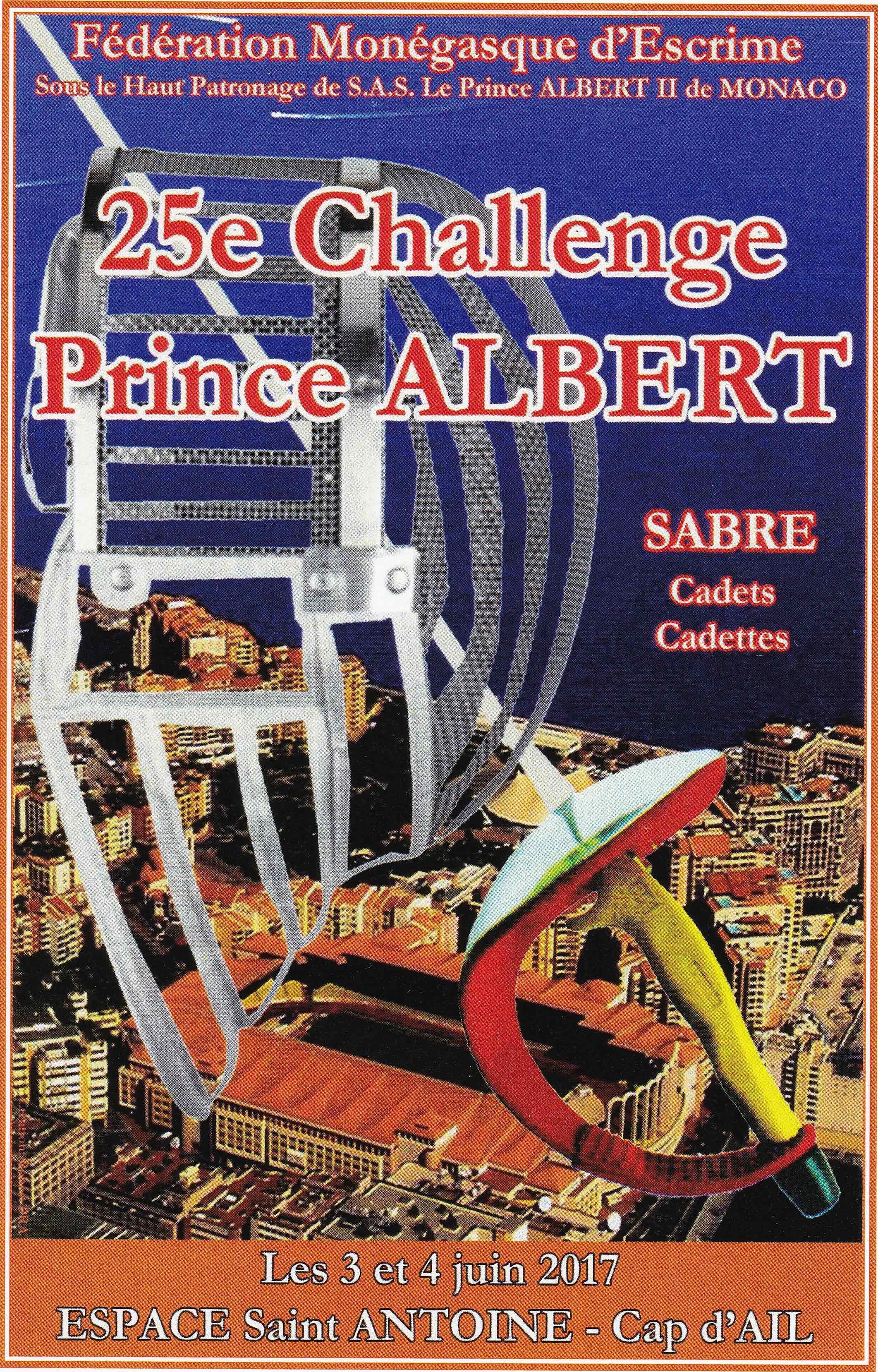 25ème Challenge Prince ALBERT