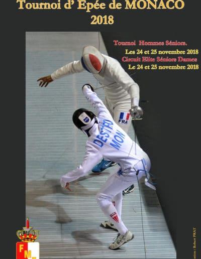 2018 novembre affiche maquette Epée 5